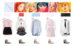 ffaae1e28c RED VELVET - RUSSIAN ROULETTE♡💚💜💛💙 by vvvan99 on Polyvore featuring  polyvore