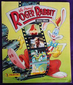 Vintage Panini 'Who framed Roger Rabbit?' stticker album / Album de cromos 'Quien engano a Roger Rabbit?' de Panini | Flickr - Photo Sharing!