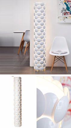Bell   Aus Karton Gefertigte Hängeleuchte | Licht // Design // Ideen |  Pinterest