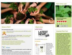Plants for a Future  This is an amazing British site that lists over 7000 plants that are edible and/or have medicinal uses. A great resource for witches, herbalists and anyone who is interested in learning the powers of plants.