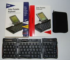 The Palm portable keyboard