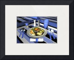 """""""Culinary Art Decor Entree  Fuji Apple Chicken Sa"""" by Andre Price,  //  // Imagekind.com -- Buy stunning fine art prints, framed prints and canvas prints directly from independent working artists and photographers."""