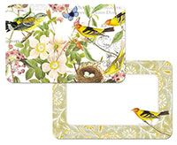 Placemat Botanical Birds