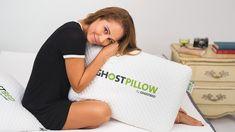 GhostPillow - Memory Foam Twin Xl Mattress, Best Mattress, Latex Mattress, Best Pillow, Perfect Pillow, Ghost Bed, Foam Pillows, Cool Technology, Body Heat
