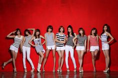 SNSD's Red Wallie Org. Ver.
