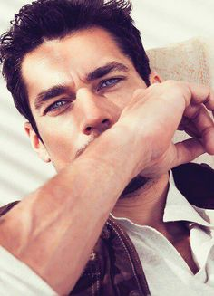 David Gandy stars in Massimo Dutti's spring 2011 campaign photographed by Paola Kudacki. Featured alongside Anja Rubik, David embodies the label's sense of… David Gandy, Anja Rubik, Beautiful Eyes, Gorgeous Men, Beautiful People, Beautiful Pictures, Divas, Hot Guys, Dolce E Gabbana