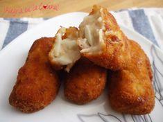 ¿Sois croqueteros? Entonces no dejéis de ver esta receta para preparar unas croquetas de atún y huevo... ummmm....