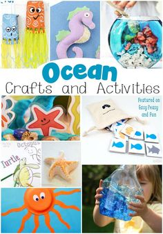 Ocean Crafts and Activities for Kids
