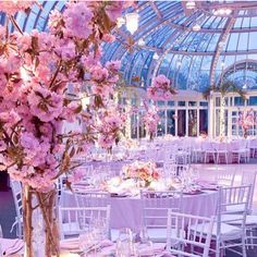 Ooooh!  I love weddings in conservatories, and this venue is so dreamy! Via @foreverafterwed // Castlefield Bridal Company and Branding Atelier by Sophie Taylor • www.castlefield.co • Luxe Wedding Invitations and Stationery Design // #bridal #wedding #