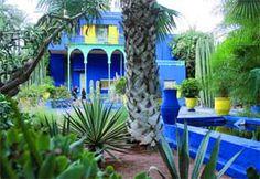 Yves Saint Laurent's garden in Morocco