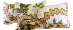 Vintage Handmade Pillows S/2