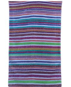 Fresco Towels Rainbow Stripes Large Bathmat
