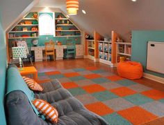 Five Kidsu0027 Playroom Ideas To Inspire | Collaborative Space, Playrooms And  Spaces