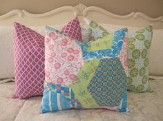 2 Pillows Decorative Throw Pillow Covers Set by CottageHomeCouture, $52.00