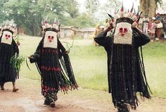 Africa    Bamileke dancers in Batié, West Province, Cameroon   ©Anya Lothrop