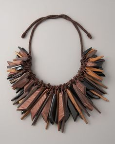 Large Cluster Necklace by Donna Karan