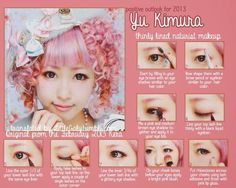 Maquillaje lolita