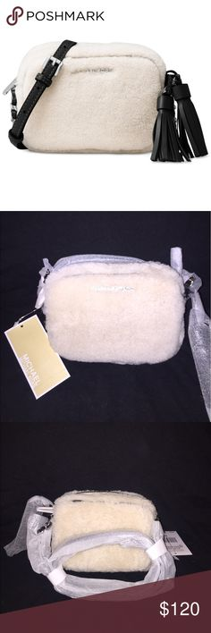 NWT Michael Kors Crossbody Bag BRAND NEW WITH TAGS STILL ATTACHED. This adorable number is so chich for a night out or even brunch with the girls. Michael Kors Bags Crossbody Bags