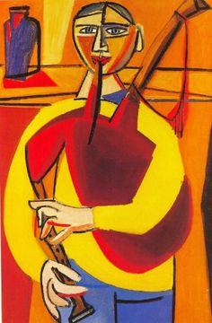 O gaiteiro (1950) Luis Seoane