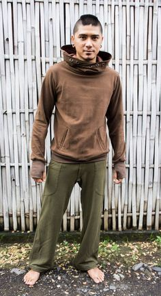 This trouser is called DAO Pant and is our new model of the Kung Fu Party Pant. This year we made a change at the pockets and the belt which gives the DAO Pant a nicer look. The trouser is boot cut and you can bind it together with a string at the bottom. This feature is very handy if you are doing Alternative Men, Alternative Fashion, Ao Dai, Jedi Outfit, Pixie Outfit, Kung Fu, Cyberpunk Clothes, Dystopian Fashion, Men Design