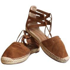 Pre-owned Espadrilles ($230) ❤ liked on Polyvore featuring shoes, sandals, aquazzura shoes, aquazzura sandals and aquazzura