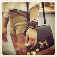 My sister's (@songdani) arm swag and Hermes bag! - Aimee Song  The BAG!!!!