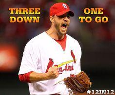 Wainwright was on fire tonight.  10/18/12