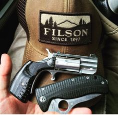 Cool, except the stupid hat. Self Defense Weapons, Weapons Guns, Guns And Ammo, North American Arms, Pocket Pistol, Tac Gear, Edc Everyday Carry, Cool Guns, Concealed Carry