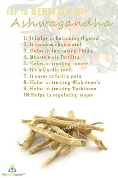 Healing effects of Ashwagandha are: Protects the immune system. Helps combat the effects of stress. Improves learning, memory, and reaction time. Reduces anxiety and depression without causing drowsiness. Helps reduce brain-cell degeneration. Stabilizes blood sugar. Helps lower cholesterol #paleodiet #healthy #fitness #alkaline #naturalremedies #bestoftheday #monsey #Organic #lakewood #chabbad #fitnyc #Myhealthopedia #food #family #boropark…