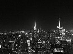 Nyc, Manhattan, Empire State Building, skyline, Rockefeller center