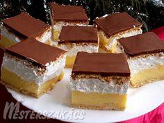 Érdekel a receptje? Kattints a képre! Rocher Torte, Hungarian Recipes, Mini Cheesecakes, Something Sweet, No Bake Desserts, Diy Food, Tandoori Chicken, Nutella, Tiramisu