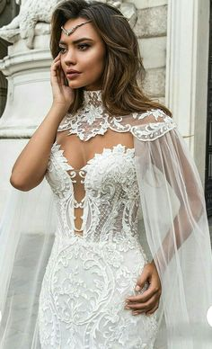 "Crystal Design 2018 Wedding Dresses — ""Royal Garden"" & Haute Couture Bridal Collections crystal design 2018 sleeveless strapless deep plunging sweetheart neckline full embellishment elegant mermaid wedding dress sheer button back chapel train (gia) zv Sheer Wedding Dress, Lace Mermaid Wedding Dress, Gorgeous Wedding Dress, Best Wedding Dresses, Mermaid Dresses, Wedding Attire, Bridal Dresses, Elegant Wedding, Dress Lace"