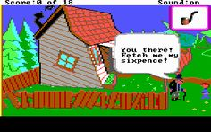 mixed up mother goose. This was my first computer game ever...ah the memories