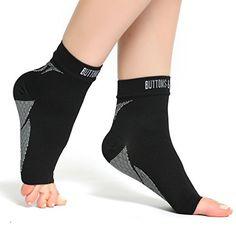Prime Day Deal (30% off) - Plantar Fasciitis Socks Foot Care Compression Sock Sleeve...