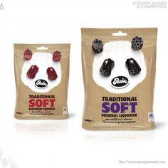Panda Liquorice Confectionary by David Pearman