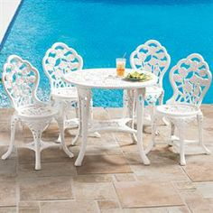 Bistro Set with 5-Pcs. | Patio Furniture | Brylanehome
