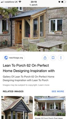 Front Porch Posts, Lean To, House Design, Gallery, Inspiration, Image, Home, Biblical Inspiration, Roof Rack