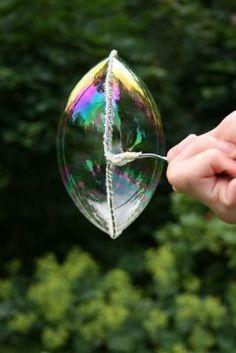 Seifenblasen Flüssigkeit selber machen