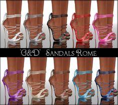 G&D - Sandals Rome