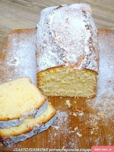 CIASTO PIASKOWE - Swiatciast.pl Polish Desserts, Polish Recipes, Cookie Desserts, Dessert Recipes, Sand Cake, Nutella Muffins, Cranberry Orange Bread, Pound Cake Recipes, Pumpkin Cheesecake