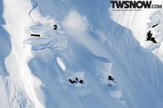Lucas Debari  PHOTO: Andy Wright | Wallpaper Wednesday: What's better than big,natural…drops! | TransWorld SNOWboarding