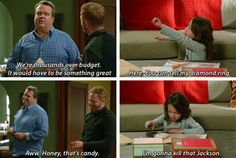 """I'm gonna kill that Jackson"" - Cam, Mitch and Lily #ModernFamily"