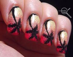 Mikrosvet by Ellen: BNA challenge Letní písková manikúra Challenges, Nail Art, Nails, Beauty, Ongles, Nail, Cosmetology, Beauty Illustration, Nail Arts