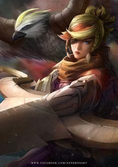 Quinn Art - League of Legends