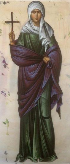 Holly Pictures, Maria Goretti, Byzantine Icons, Orthodox Christianity, Art Icon, Orthodox Icons, Christian Art, Religious Art, Saints