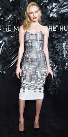 Look of the Day - November 21, 2014 - Kate Bosworth in Hugo Boss from #InStyle