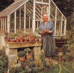 Doesn't she look happy? I love her glass house!