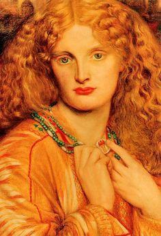 Dante Gabriel Rossetti - Helen of Troy, De. Данте Габриэль Россетти
