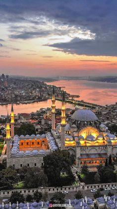 Some Travel Destinations Visit Istanbul, Istanbul City, Istanbul Travel, Beautiful Sites, Beautiful Places, Best Places To Travel, Places To Visit, Hagia Sophia Istanbul, Turkey Destinations