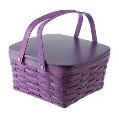 Purple Longaberger Basket